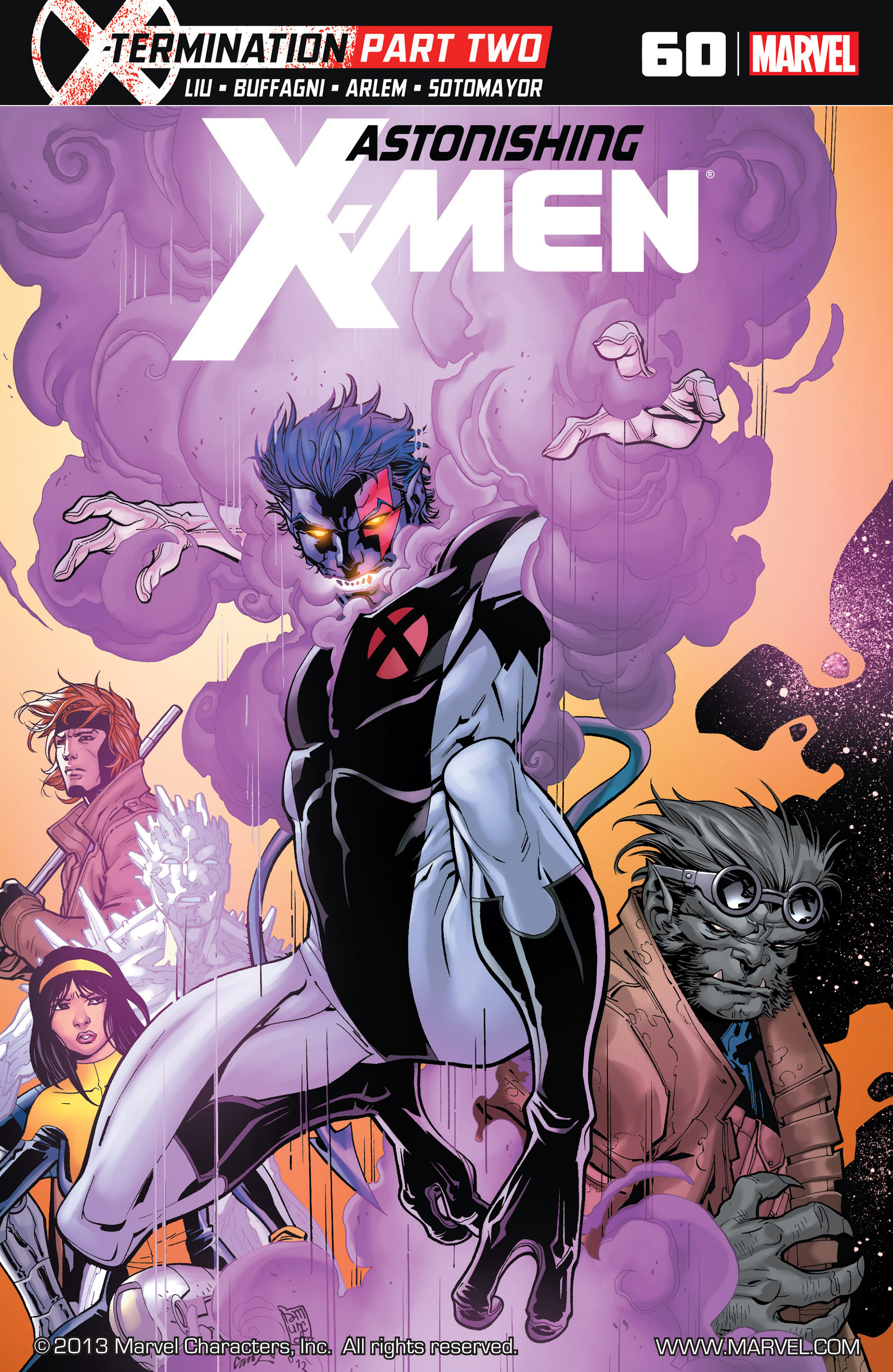 Read online Astonishing X-Men (2004) comic -  Issue #60 - 1