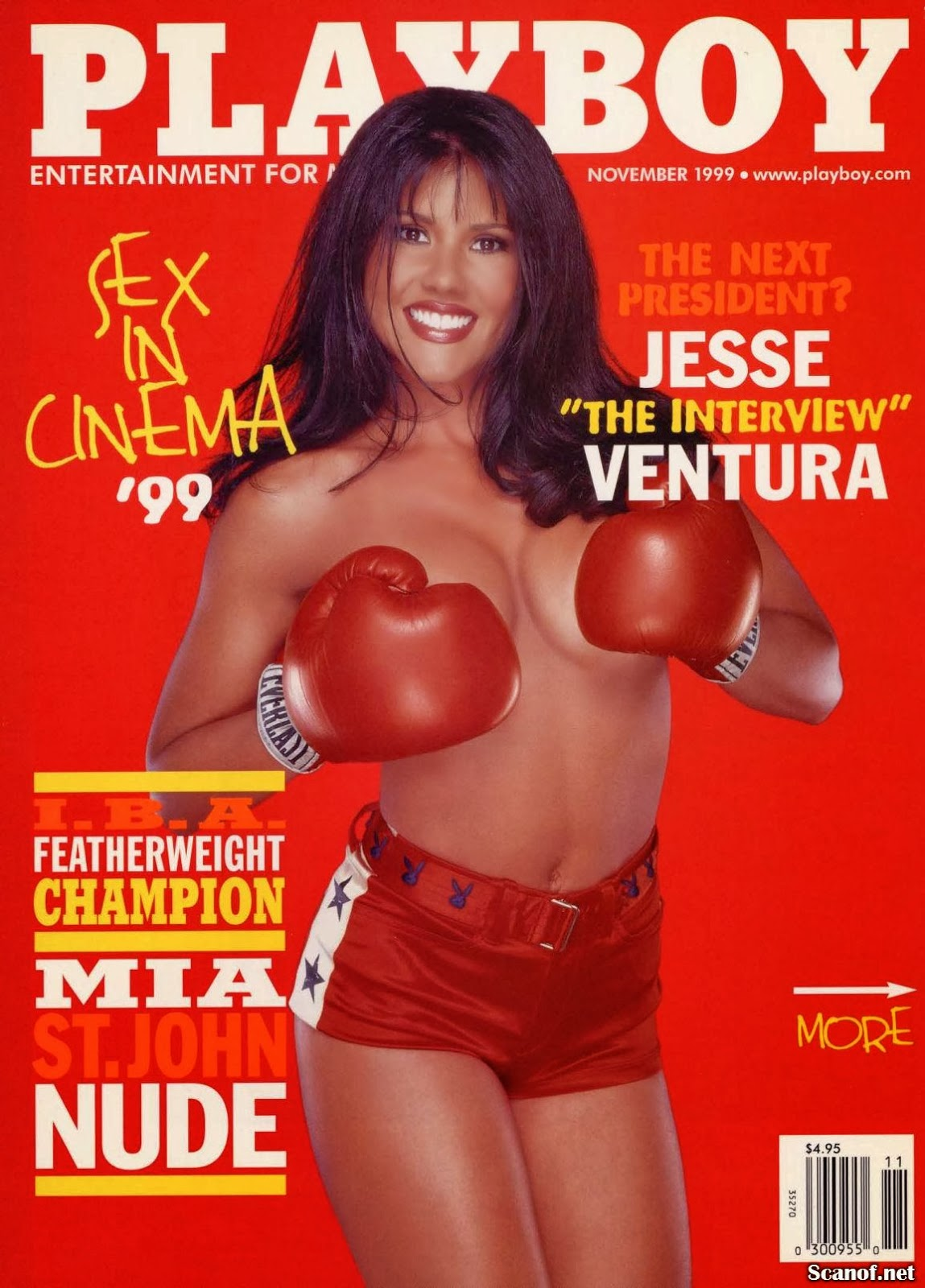 Mia St John  Playboy Usa November 1999  Magazine Scans-4603