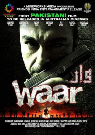 Waar 2013 HDRip 350MB Urdu Pakistani Movie 480p Watch Online Full Movie Download bolly4u