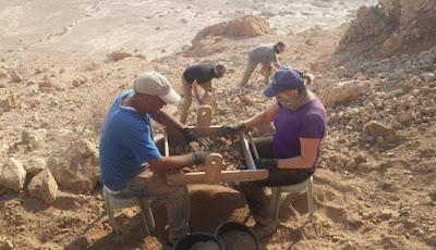 Jejak Gulungan Teks Kuno Laut Mati ditemukan di Gua Baru