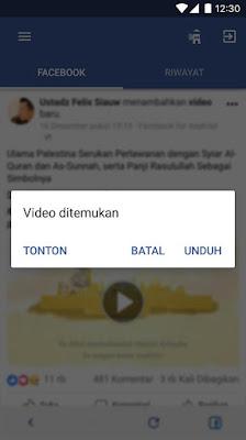 download video facebook gratis