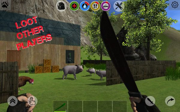 Rustland – Survival and Craft Apk Free All weapons