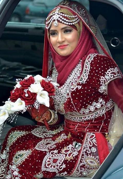 busana muslim india modern