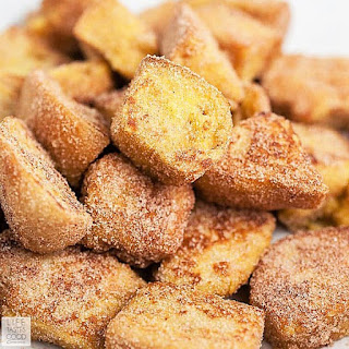 Cinnamon French Toast Bites