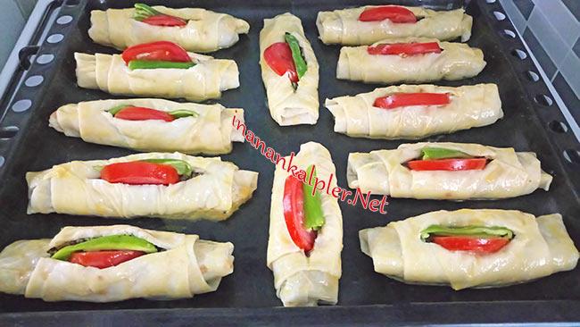 Kayık Böreği - Karnıyarık Böreği - www.inanankalpler.net