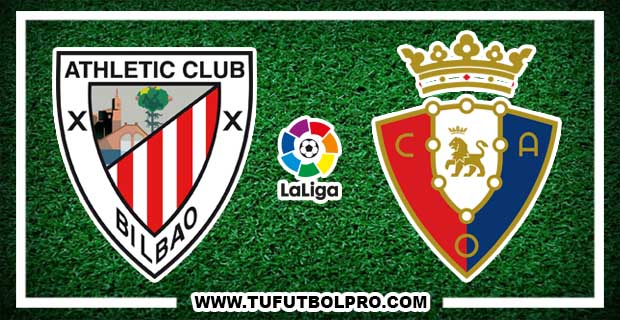 Ver Athletic Club vs Osasuna EN VIVO Por Internet Hoy 30 de Octubre 2016