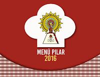 Menú día del Pilar 2016