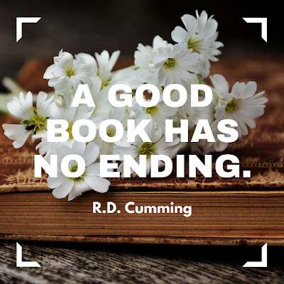 A good book has no ending. #books #readeveryday