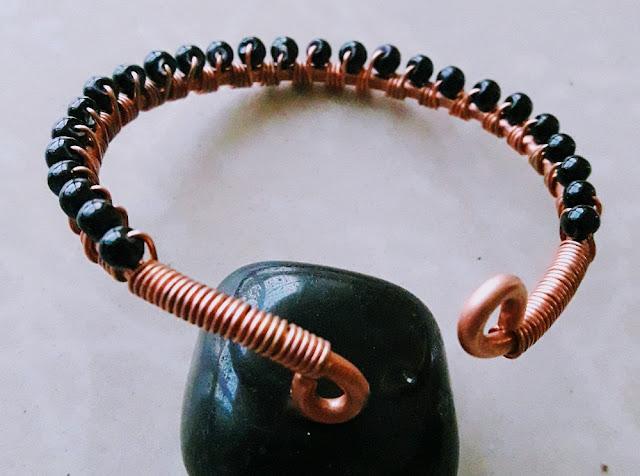 Copper Creations Copper Evil Eye Protection Bangles Bracelets RT008