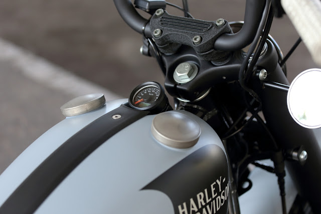 Harley Davidson Sportster XL883R 2002 By Hide Motorcycle Hell Kustom