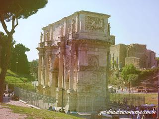 arco constantino guia brasileira roma - 7 Imperadores e seus monumentos em Roma