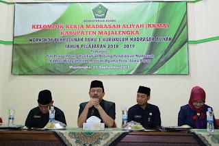 workshop Penyusunan Buku 1 Kurikulum Madrasah Aliyah TA 2018-2019