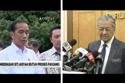 """Video Pengakuan Jokowi vs PM Mahathir Soal Pembebasan Siti Aisyah """"Saya Tak Dapat Maklumat"""""""