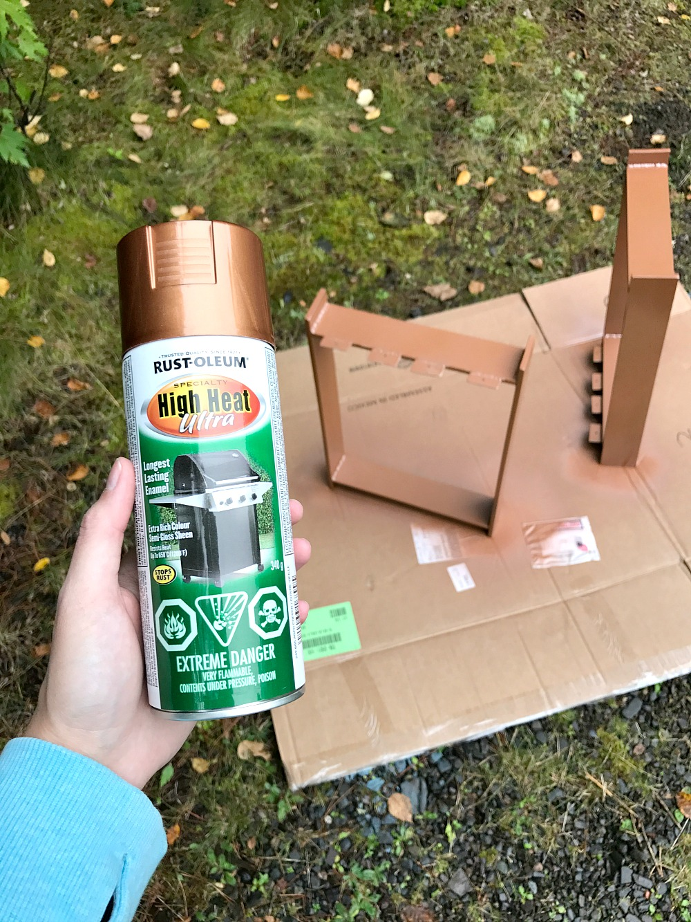 Rust-Oleum High Heat Copper Paint