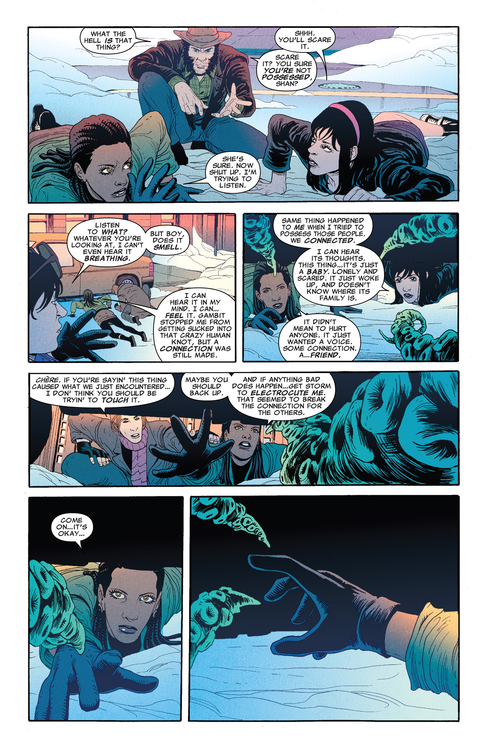Read online Astonishing X-Men (2004) comic -  Issue #66 - 17