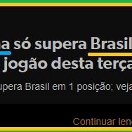 Alemanha só supera Brasil em 1 posição; veja raio X do jogão desta terça