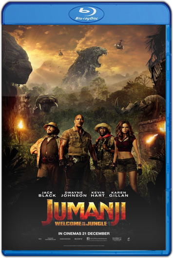 Jumanji En la selva (2017) HD 1080p y 720p Latino