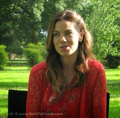 Michelle Monaghan on the set of The Best of Me Movie, 2014