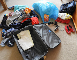 suitcase for school trip