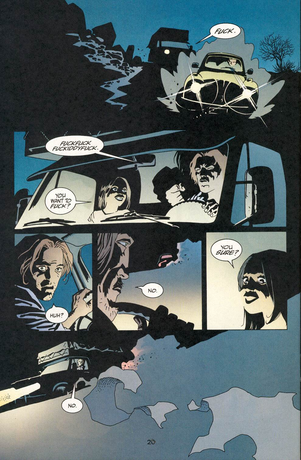 Read online 100 Bullets comic -  Issue #29 - 21