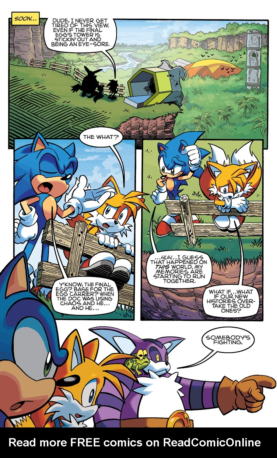 Read online Sonic The Hedgehog comic -  Issue #253 - 11