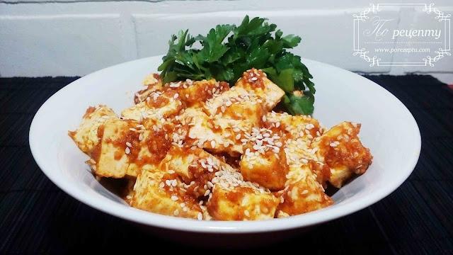 как жарить тофу