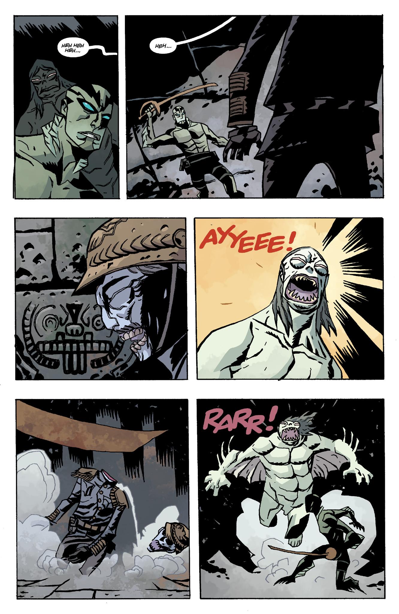 Read online Abe Sapien comic -  Issue #8 - 19
