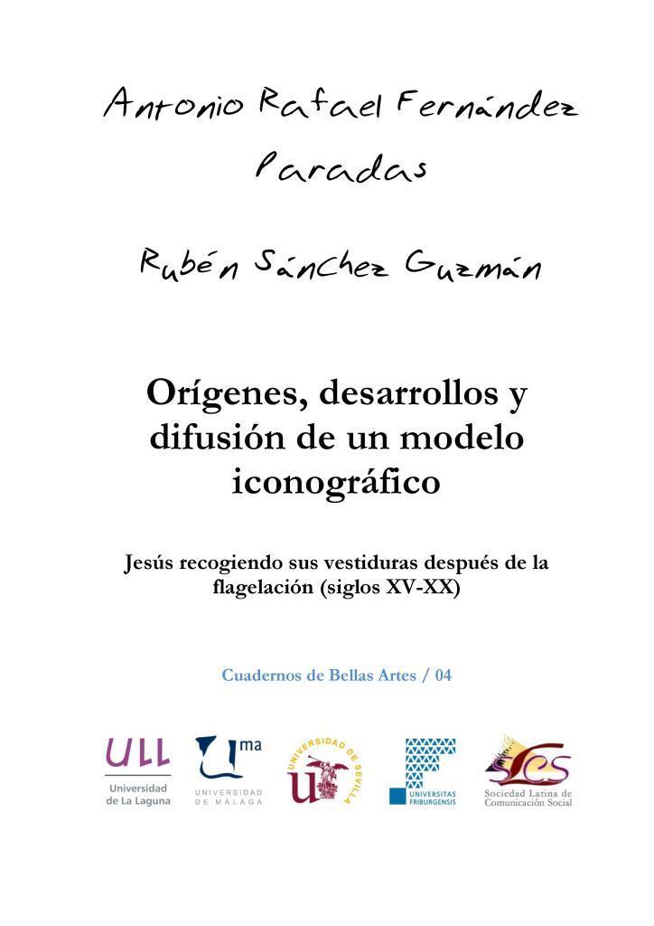 Orígenes, desarrollos y difusión de un modelo iconográfico – Antonio Rafael Fernández Paradas