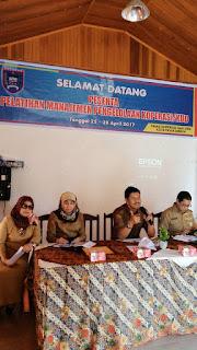Dinas Koperasi UMKM Payakumbuh Gelar Pelatihan Manajemen Pengelolaan Koperasi Dan KUD