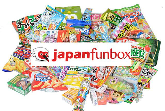 Japan Funbox bonbons japonais snacks boîte abonnement