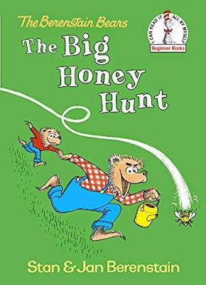 The Big Honey Hunt by Stan Berenstain, part of children's book review list about bees