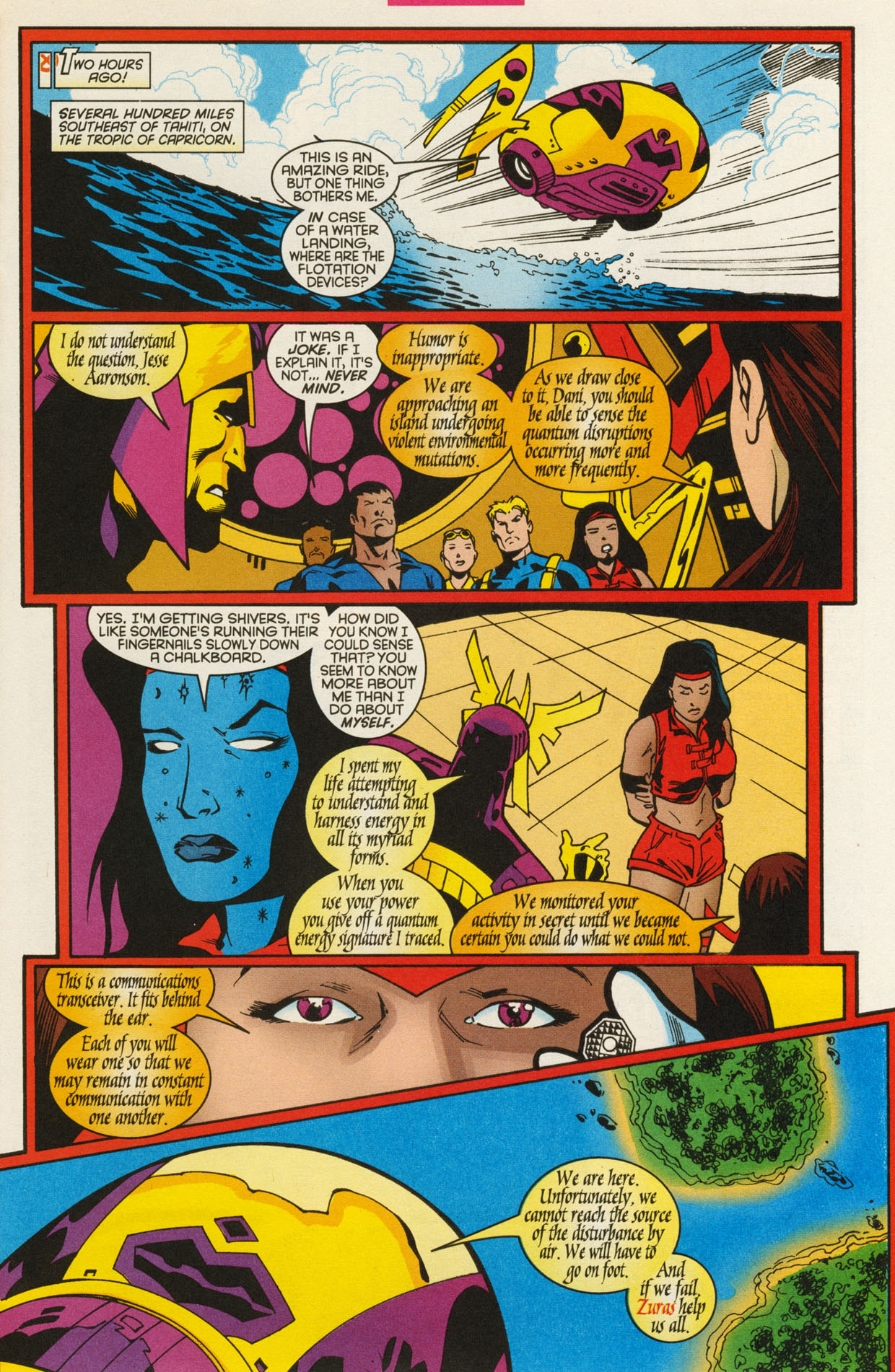Read online X-Force (1991) comic -  Issue #93 - 11
