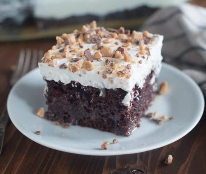 BETTER THAN ANYTHING CAKE #Cake #Dessert