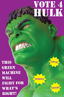 Hulk Poster | Cast Your Vote! Election Activity for the Whole Class | Remedia Publications