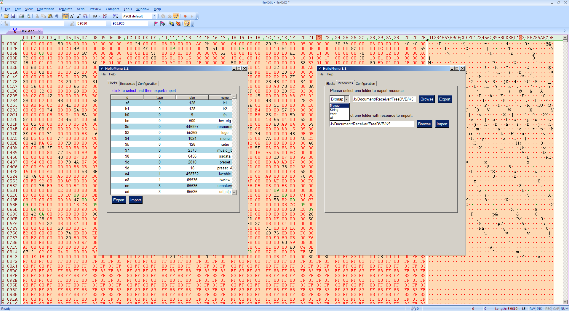 Cara Menggunakan HelloMenu GUI Software Edit Skin Firmware