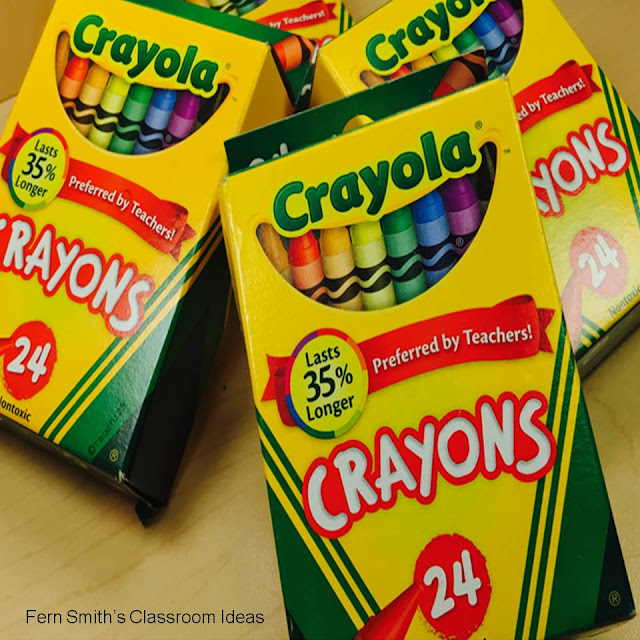 Using Crayons To Teach Non-English Speaking Students During Their First Few Days With You.