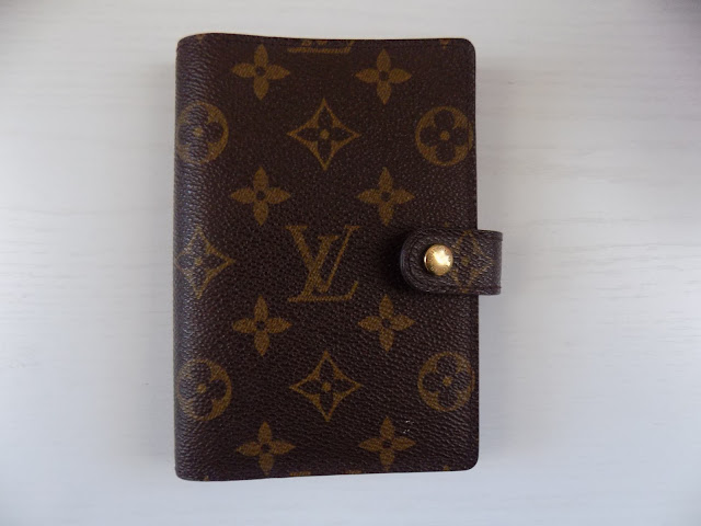 louis vuitton agenda-blog planner-how to organize blog planner
