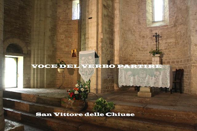 ABBAZIA DI SAN VITTORE DELLE CHIUSE E I SUOI MISTERI