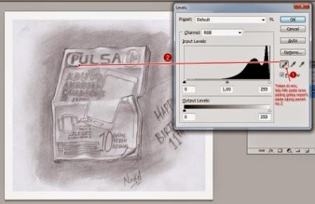 yang telah kita buat sangatlah penting bagi kau yang ingin menempatkan karyanya ke versi Cara Memperbaiki Gambar Hasil Scan dengan Photoshop