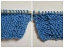 knit increase and purl increase stitch