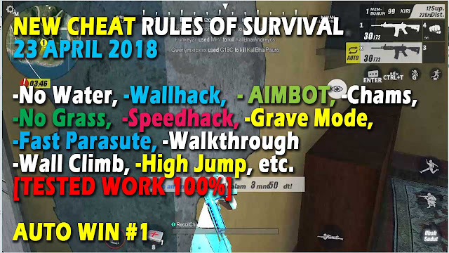 New Cheat Rules of Survival Histidin 4.0 Update 23 April 2018