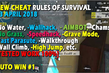 New Cheat Rules of Survival Histidin 5.0 Update 23-24 April 2018