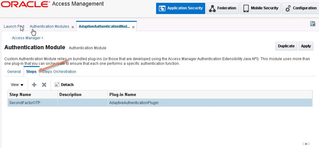 Enterprise Security: Multi factor authentication with OAM alone