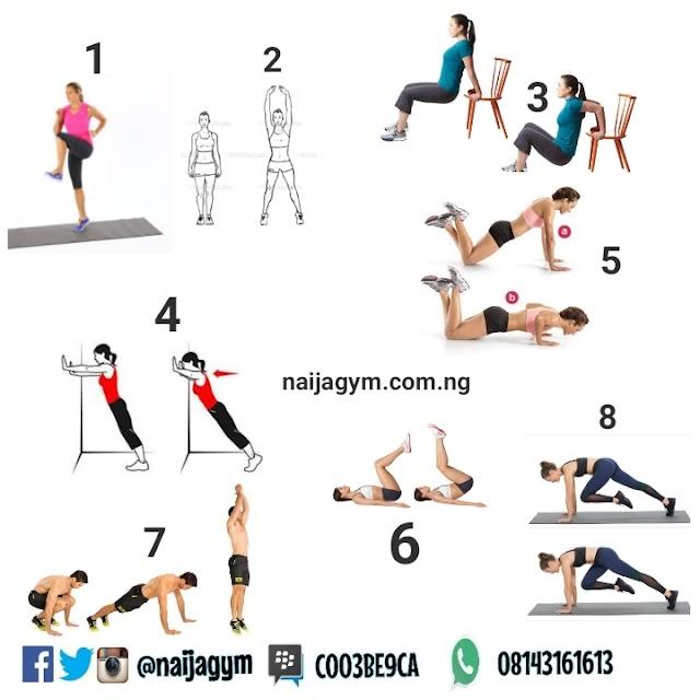 MONDAY 25/03 Workout plan