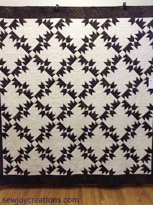 bear tracks quilt handquilt rare quilt block