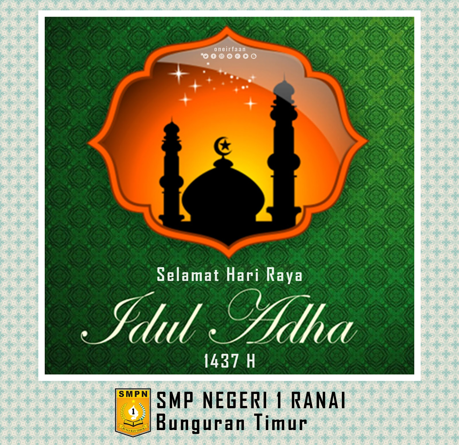 Desain Hari Raya Idul Adha 1437 H