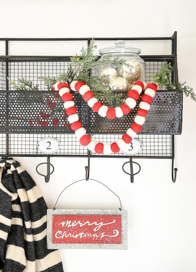 Christmas home tour, christmas, modern farmhouse, holiday home , Classic christmas, mudroom, merry christmas
