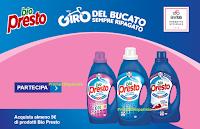 Logo ''Il Giro del bucato sempre ripagato'' : spendi e riprendi 5€ con Bio Presto e vinci buoni spesa da 100€