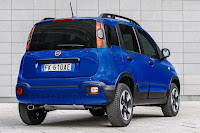 Fiat Panda City Cross (2017) Rear Side