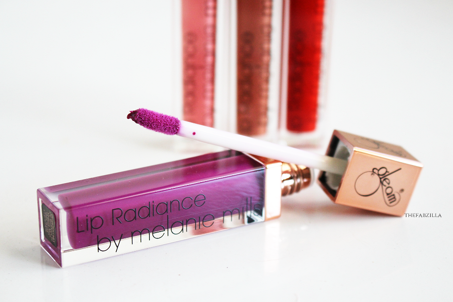 Gleam Lip Radiance by Melanie Mills, Melanie Mills Gleam Lip Radiance Swatch Review